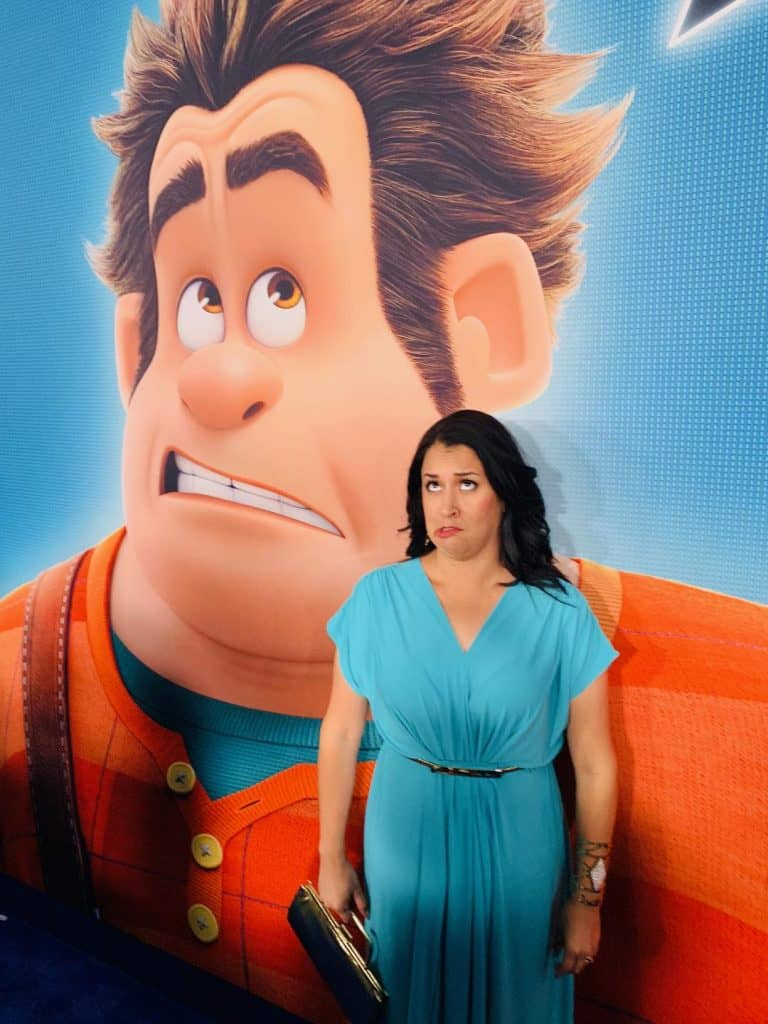 Wreck-It Ralph at Ralph Breaks the Internet Premiere