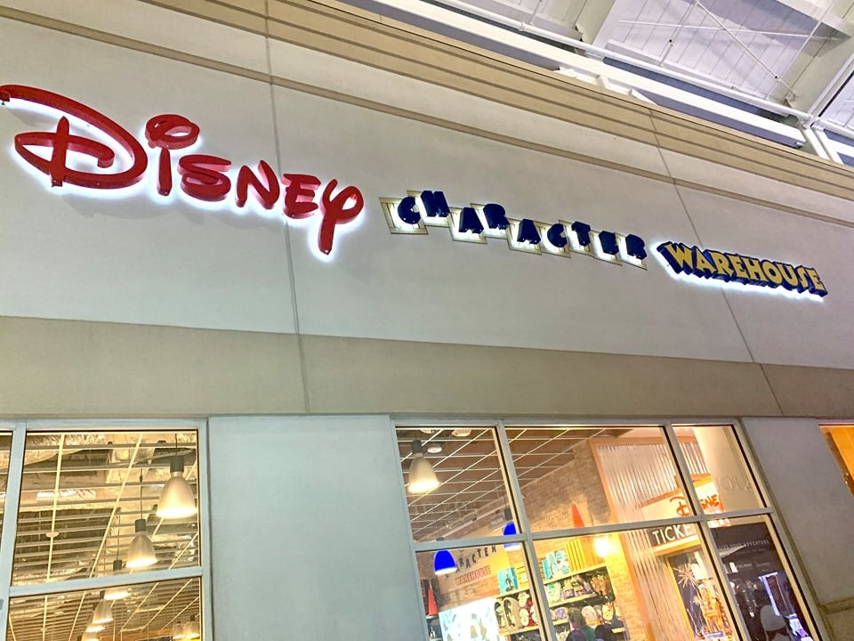 Disney Character Warehouse by Universal Studios Orlando