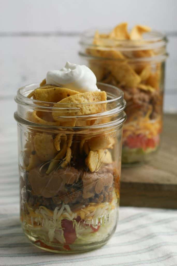 Easy Walking Taco Recipe in a Jar