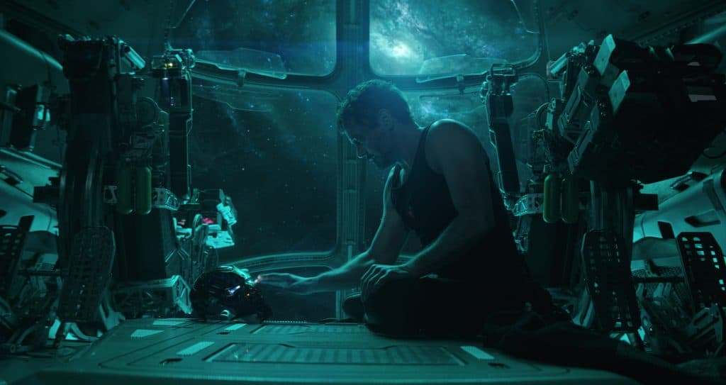 Perfect Marvel Movies Order Before Endgame - Iron Man stuck in space.