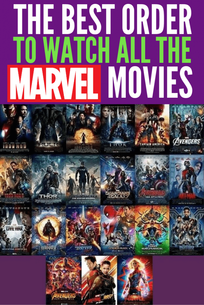 The Best Order to Watch All the Marvel Movies, especially before Avengers: Endgame. Here are Marvel movie lists of how to watch Marvel movies in chronological order, by release date, and a short list when you don't have much time to get caught up.