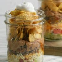 Frito Pie Walking Taco Recipe in a Jar