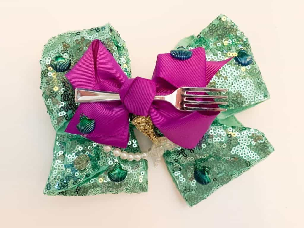 Make your own Ariel hair bow!