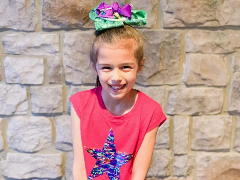 DIY Ariel Hair Bow for girls