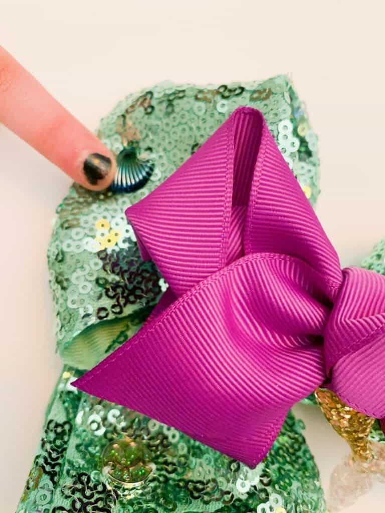 DIY Ariel Hair Bow