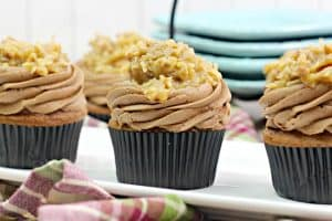 The Best German Chocolate Cupcakes Recipe