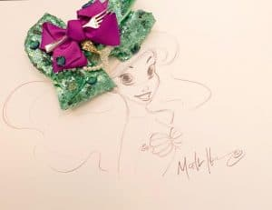 DIY Ariel Bow + Animation Class with Mark Henn