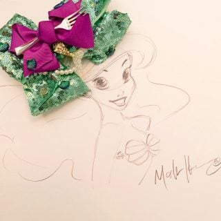 Make your own easy Ariel bow!