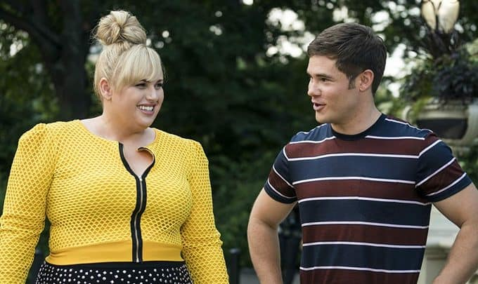 Rebel Wilson and Adam DeVine star in Isn't It Romantic? Should you take teen girls?