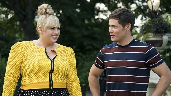 Rebel Wilson and Adam DeVine star in Isn't It Romantic? Should you take teen girls?