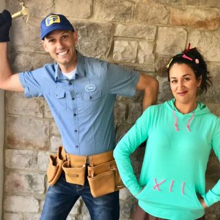 Vanellope and Fix It Felix Costumes