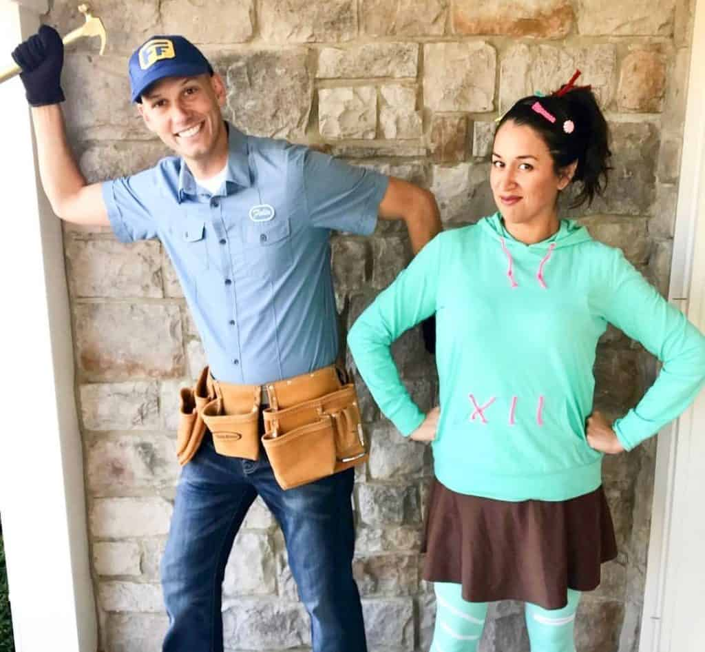Vanellope and Fix It Felix Couples Costume