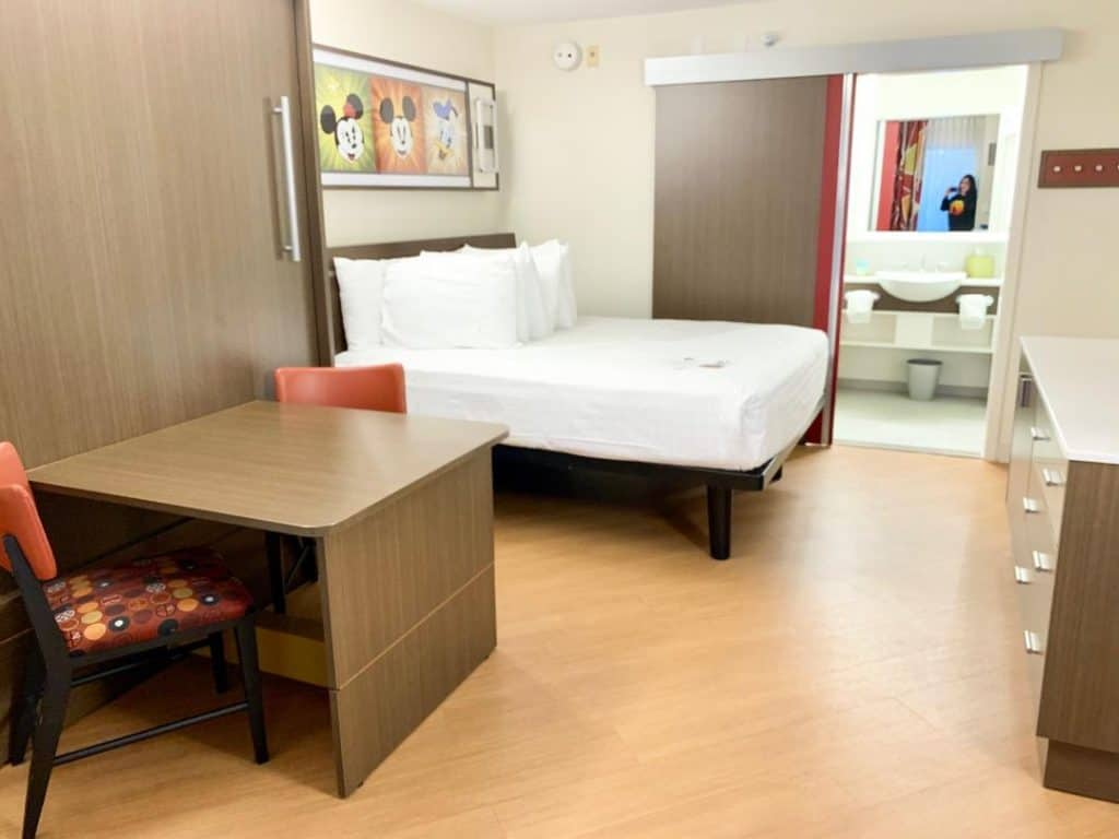 The new renovated rooms at Disney's All-Star Movies Resort