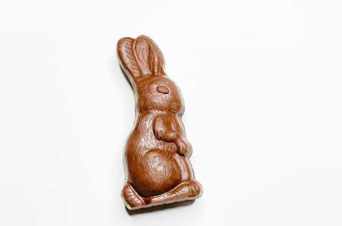 The Best Way to Eat a Chocolate Bunny at Easter