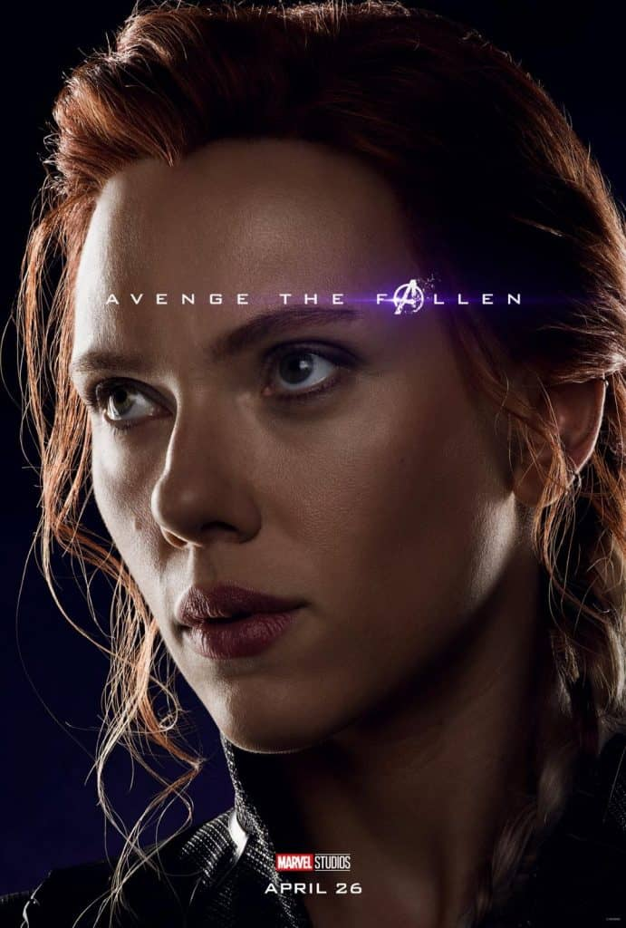 Black Widow Avengers: Endgame Poster