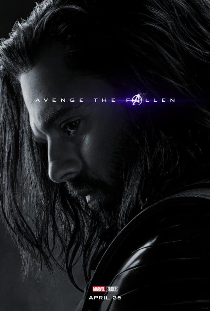 Bucky Avengers Endgame Poster