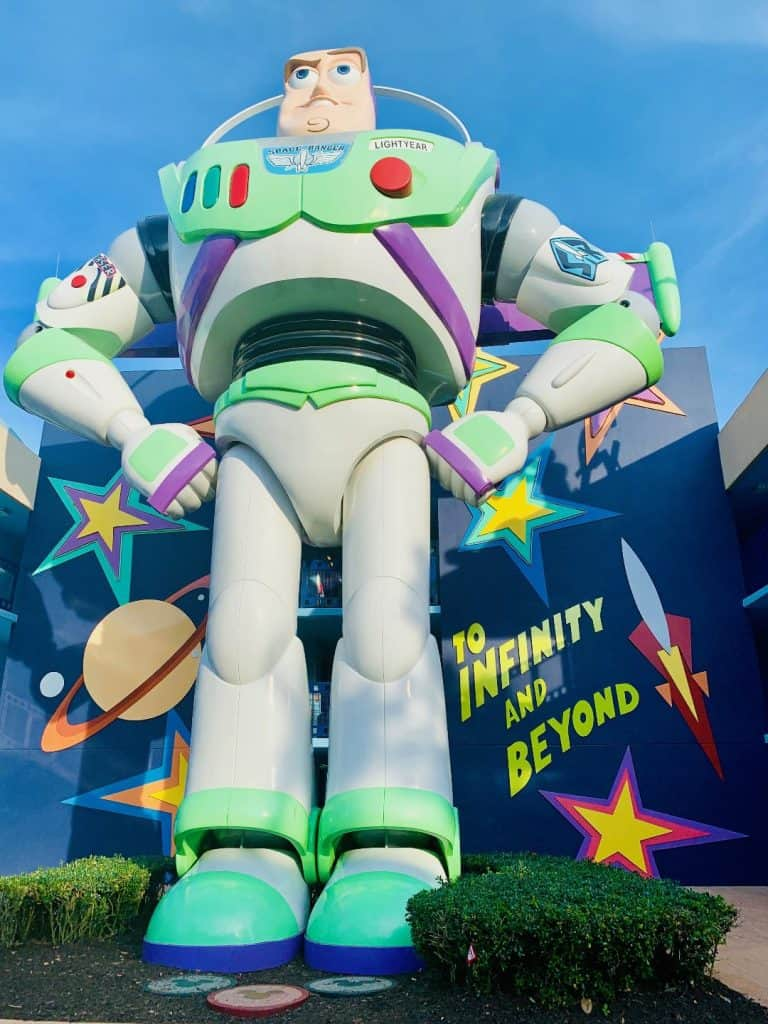 Giant Buzz Lightyear at Disney's All-Star Movies Resort
