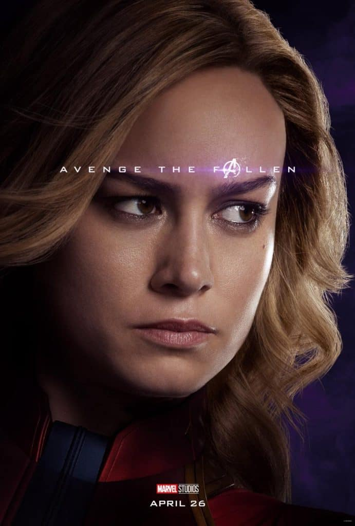 Captain Marvel Avengers: Endgame Poster