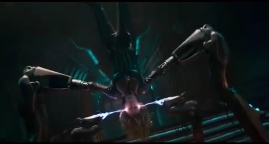 Captain Marvel Mind Fracker Scene