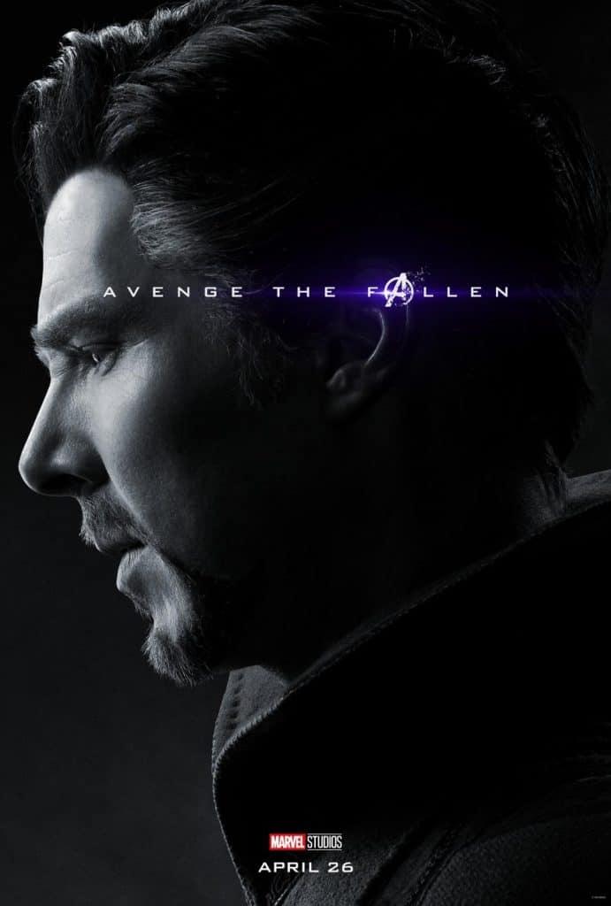 Doctor Strange Avengers Endgame Poster