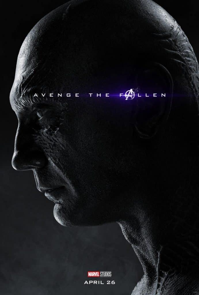 Drax Avengers Endgame Poster
