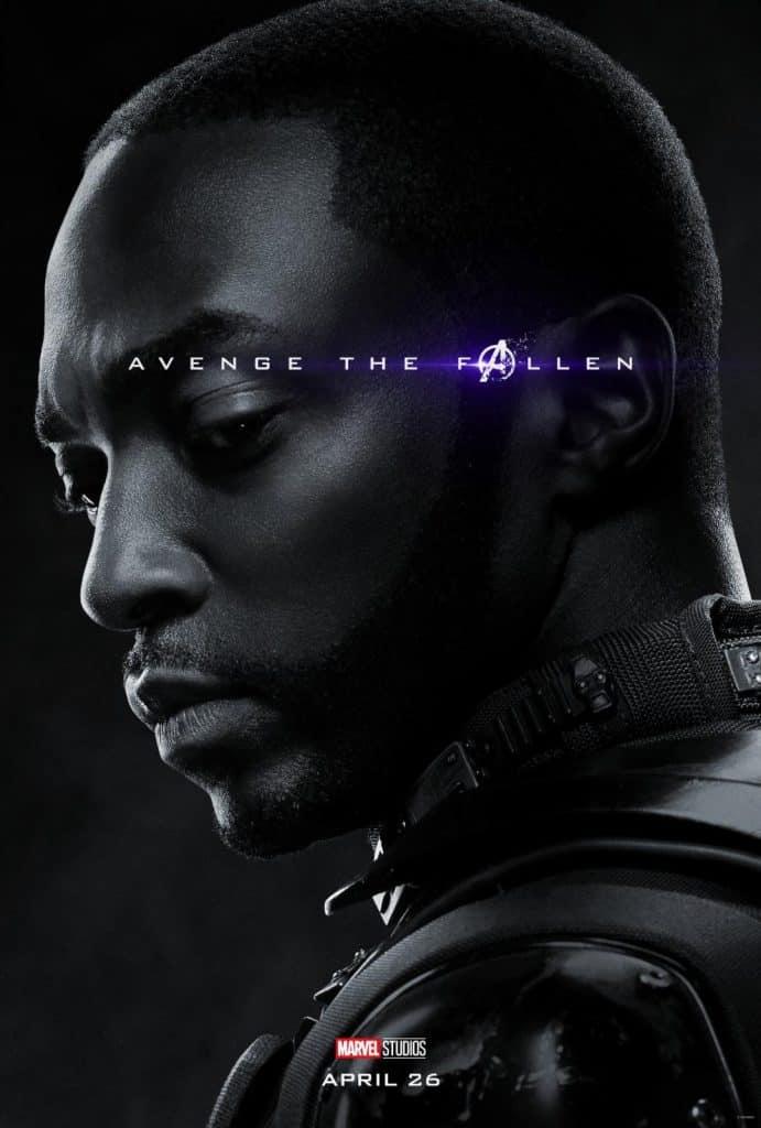 Falcon Avengers Endgame Poster