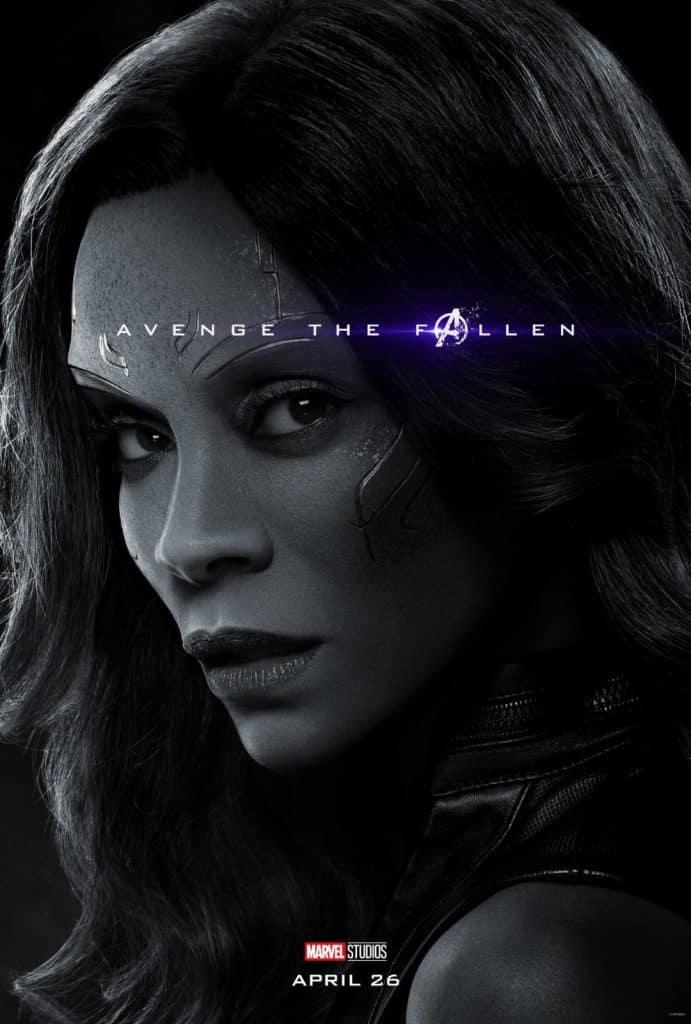Gamora Avengers: Endgame Poster
