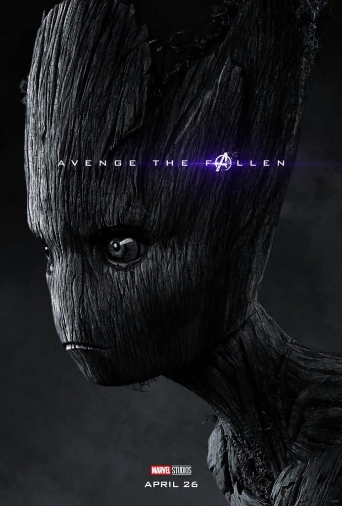 Groot Avengers Endgame Poster