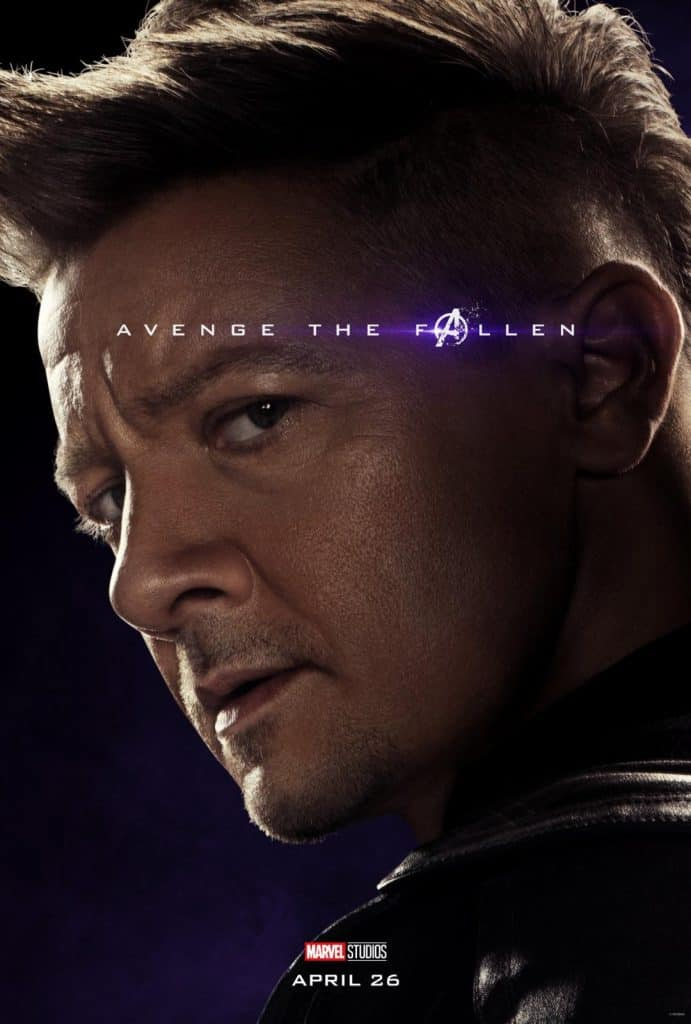 Hawkeye Avengers: Endgame movie poster