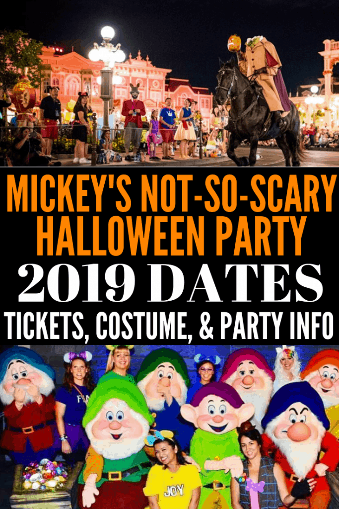 2019 Mickey's Not So Scary Halloween Party Dates and Prices in Walt Disney World! Buy your tickets now and is it really worth that $100+ price tag?