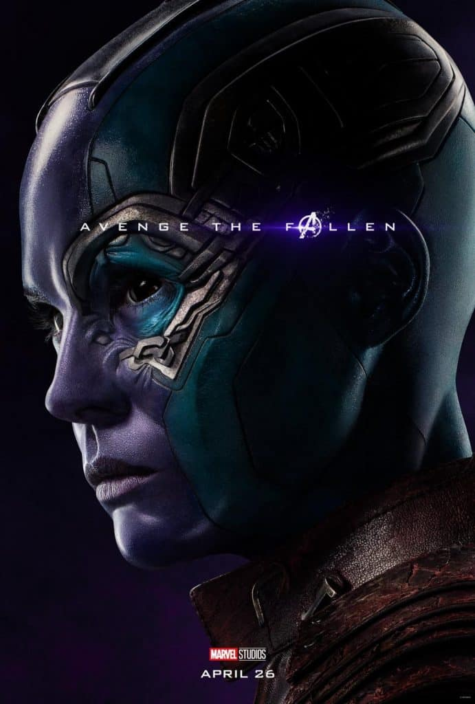 Nebula Avengers Endgame Poster