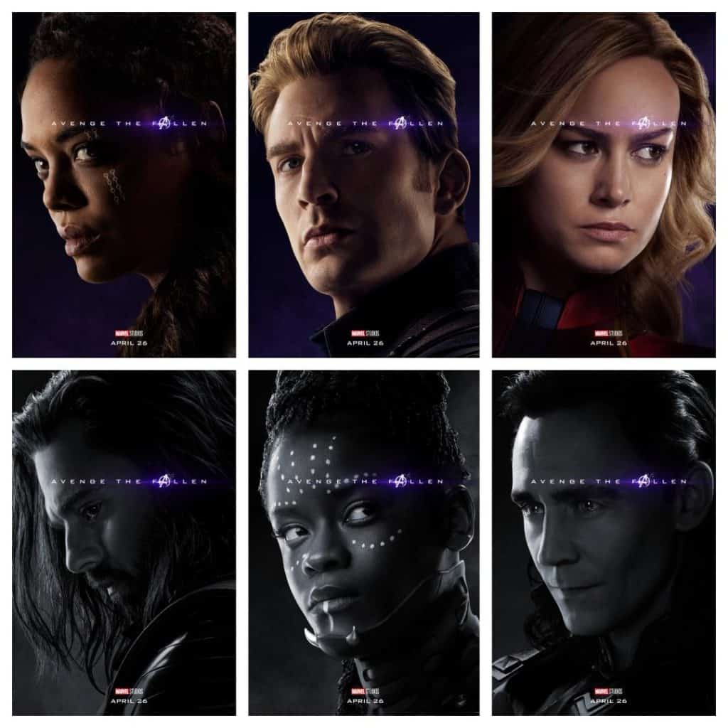 New Avengers Endgame posters! What do these posters reveal about who survived Thanos?