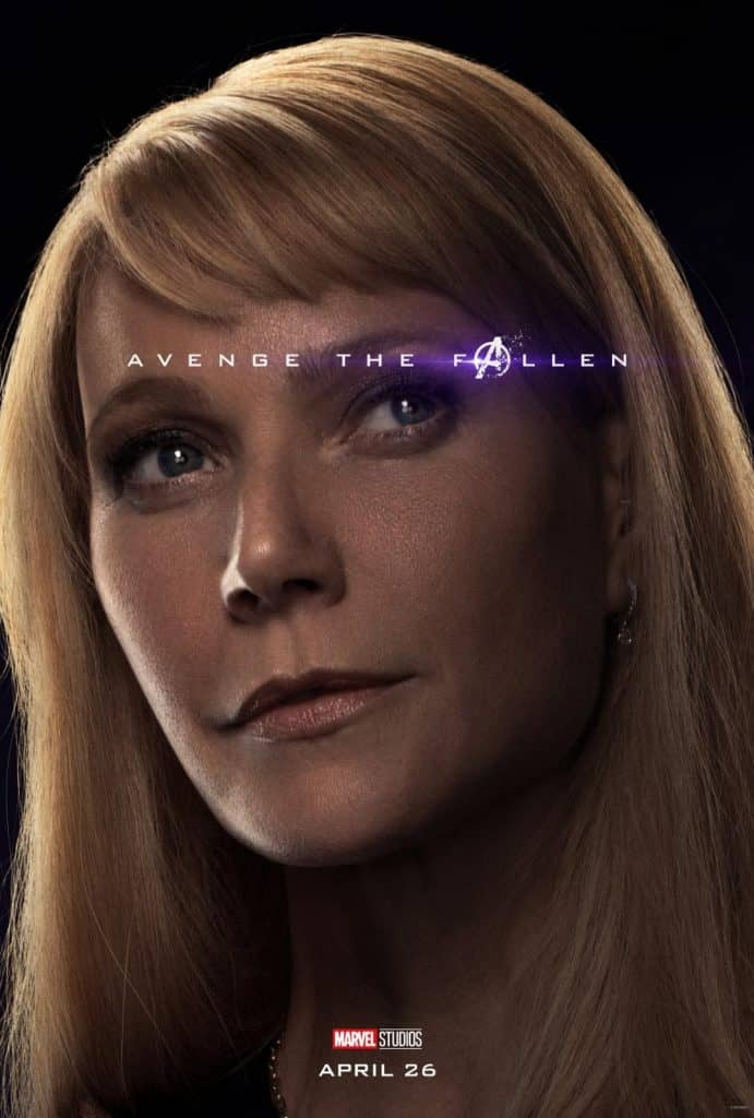 Pepper Potts New Avengers: Endgame poster