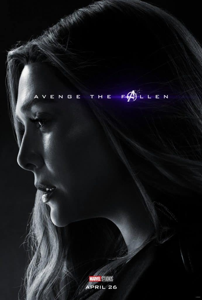Scarlet Witch Avengers Endgame Poster