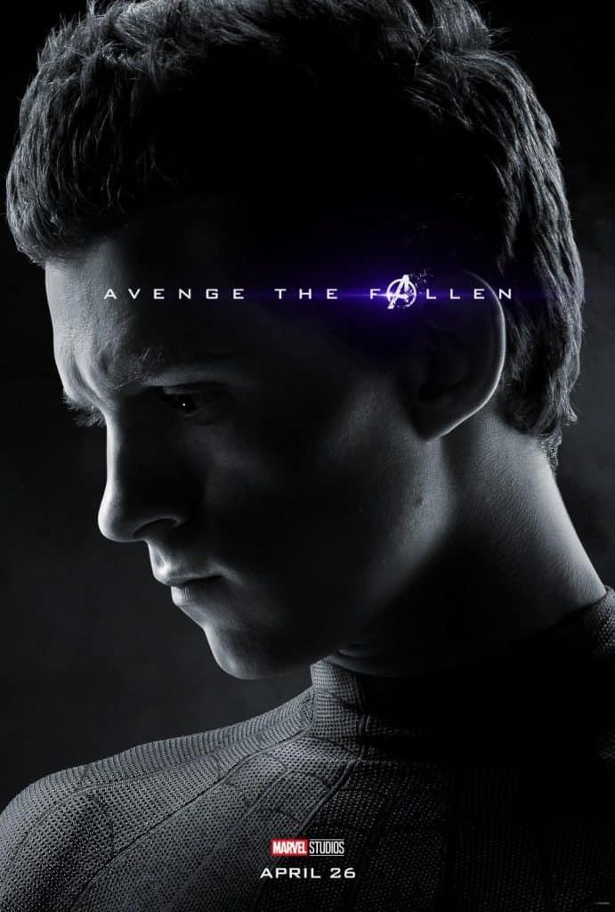 Spider-Man Avengers Endgame poster