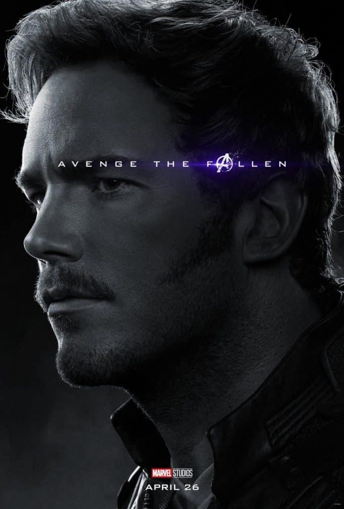 Star-Lord Avengers Endgame poster