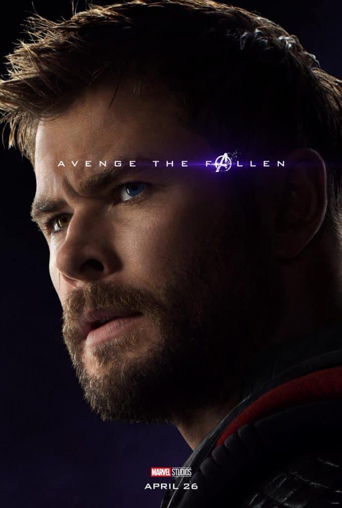 Thor Avengers Endgame Poster