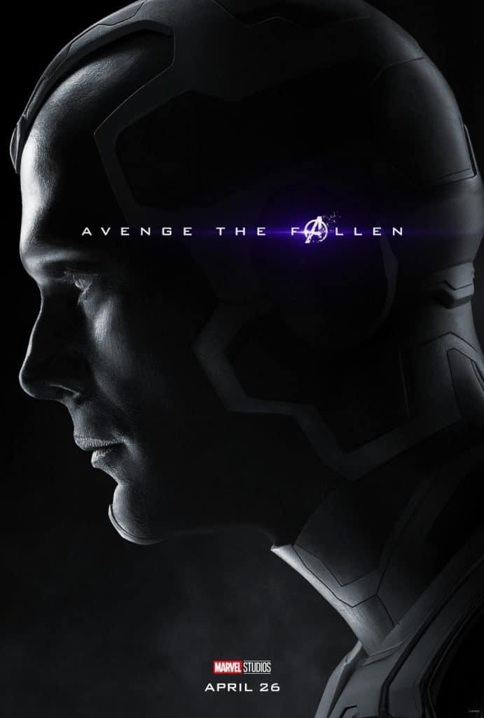 Vision Avengers: Endgame Poster