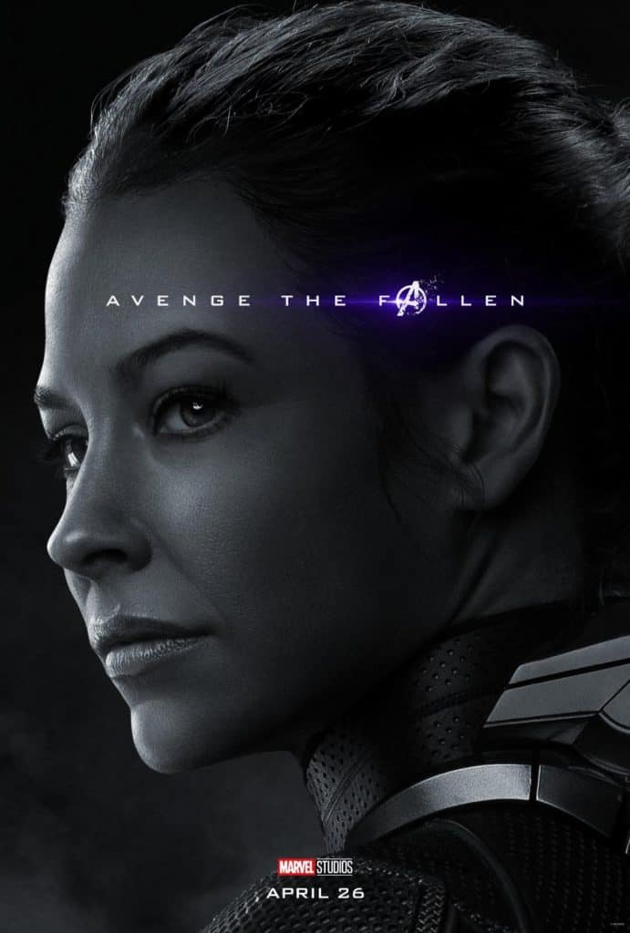 The Wasp Avengers Endgame Movie Poster
