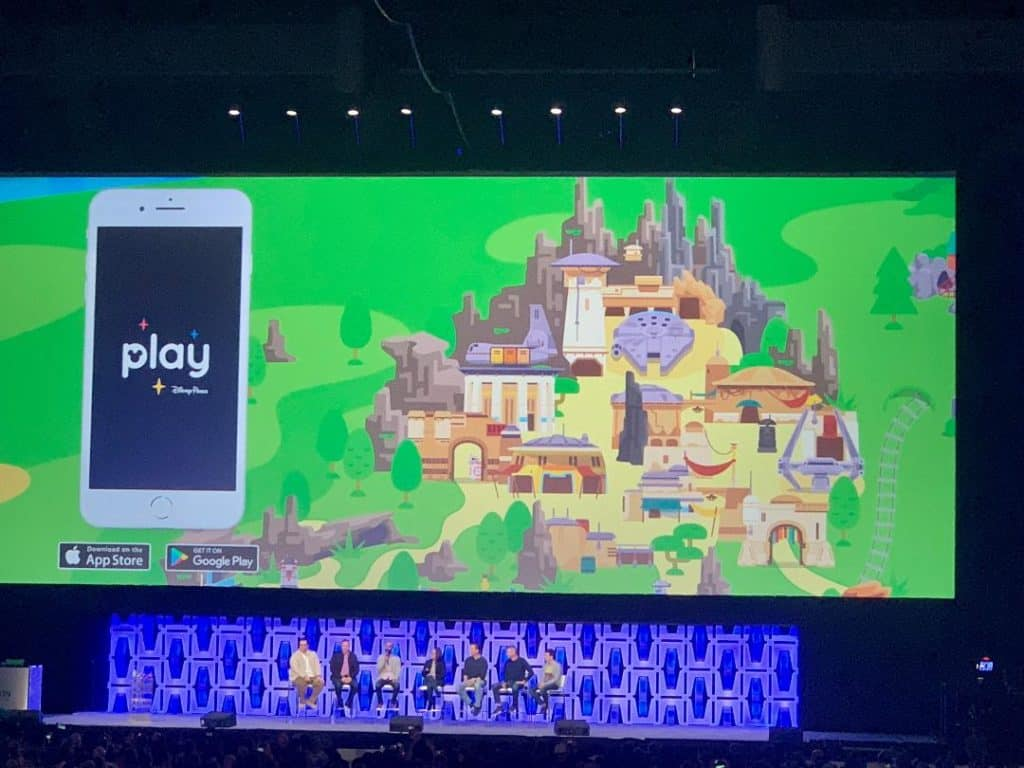 Disney Parks Play Star Wars app