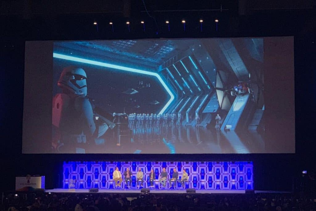 Star Wars: Rise of the Resistance Ride at Disney World