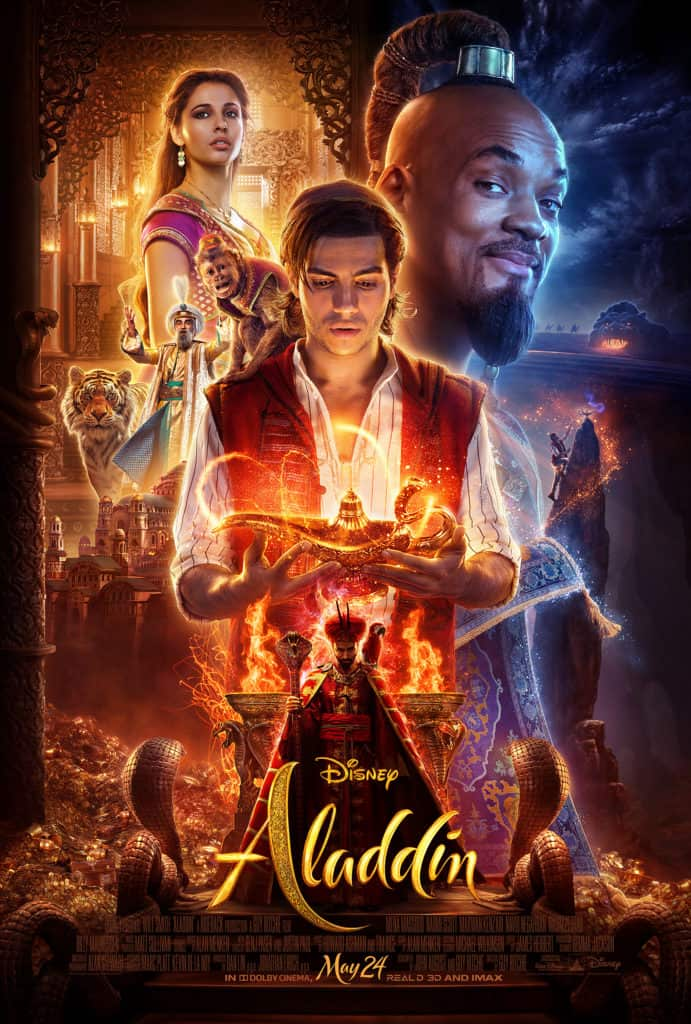 Aladdin Movie Poster and Review