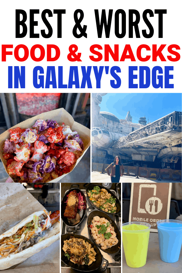 Best and Worst Food in Star Wars: Galaxy's Edge in Disneyland