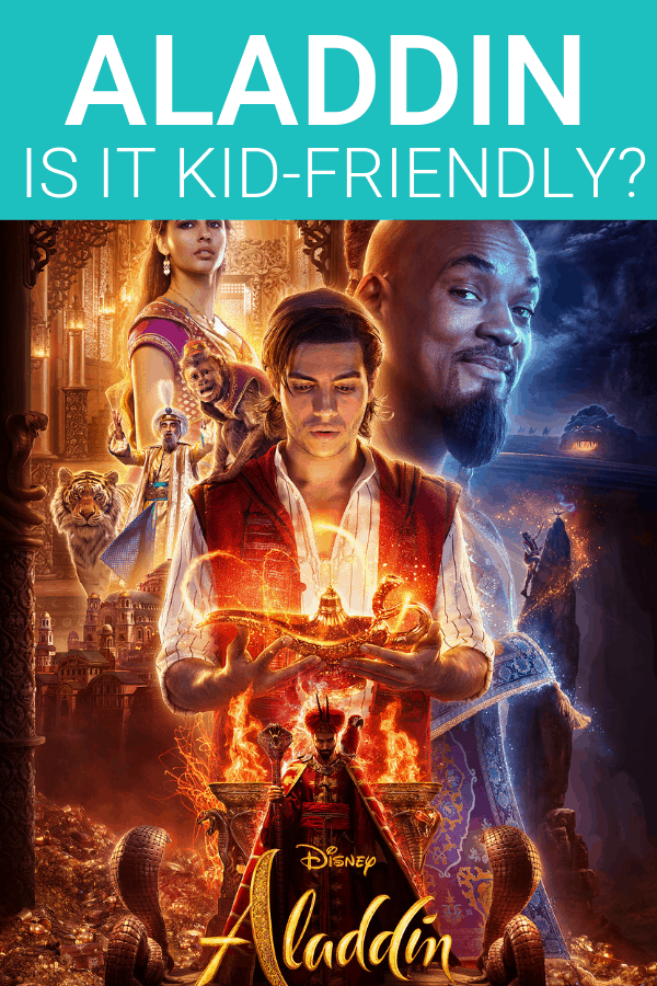 Is Aladdin kid friendly? A parent movie review.
