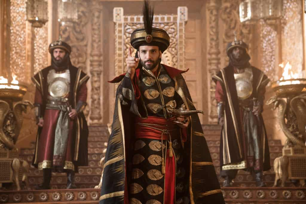 Is Jafar too scary for young kids in Aladdin?
