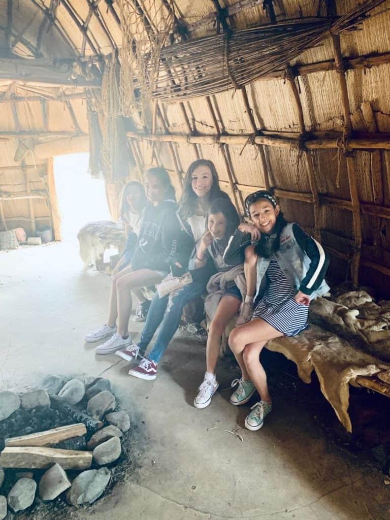 Jamestown Powhatan Indian Village
