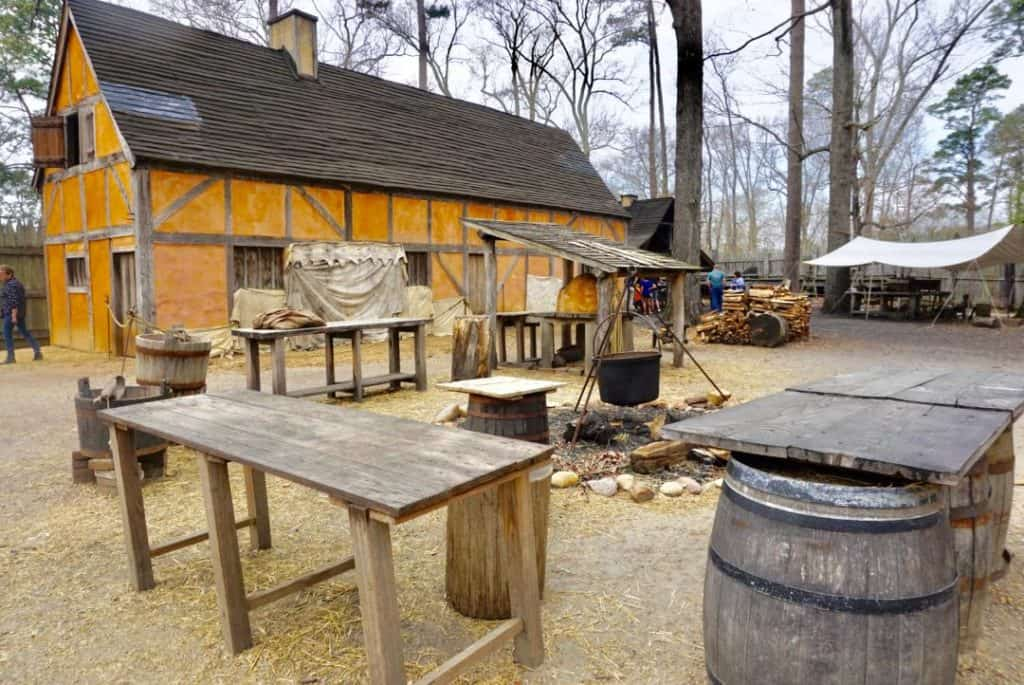 Jamestown Settlement For Kids