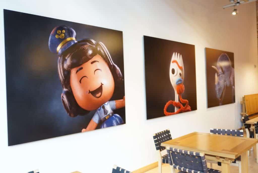 Pixar Studios Cafeteria