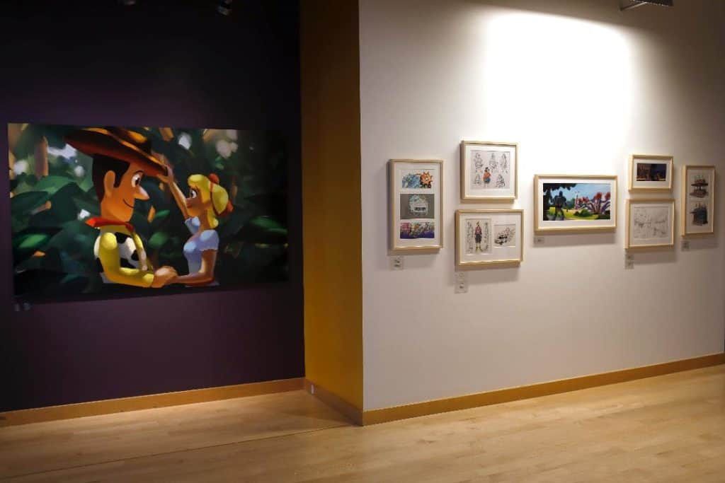 Toy Story 4 art Pixar Studios Steve Jobs Building