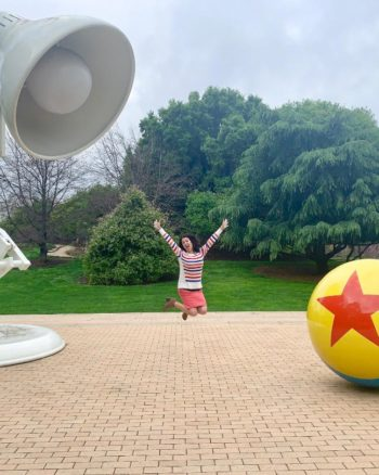 Take a Photo Pixar Studios Tour!
